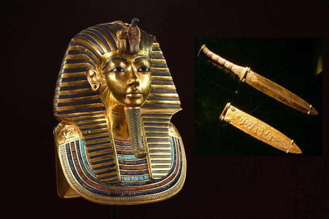 Leutar.net Bodež faraona Tutankamona nije s ovog svijeta