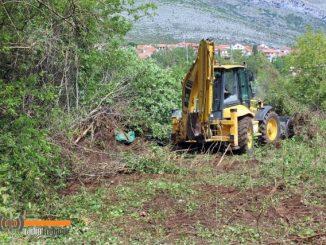 Leutar.net Za ljepše Trebinje: Nastavljena akcija čišćenja grada