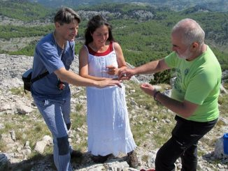 Leutar.net NESVAKIDAŠNJE: Vjenčanje na vrhu Orjena (FOTO)