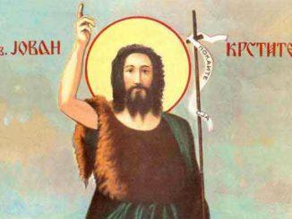 Leutar.net Danas je Sveti Jovan Krstitelj - srećna slava svima koji slave