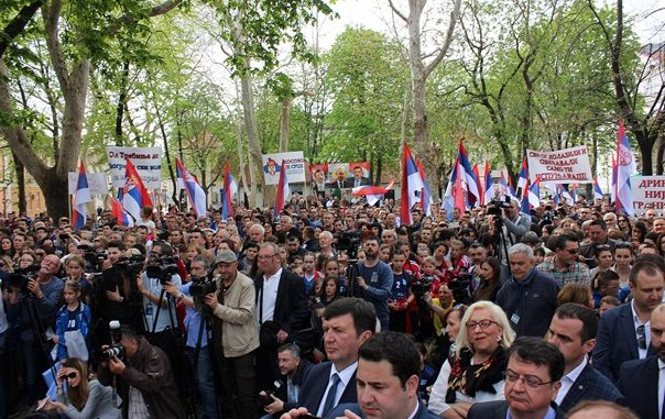Leutar.net VUČIĆ OBEĆAO: Srbija finansira rekonstrukciju Starog grada, duhovni centar u Mrkonjićima, dionicu puta do Foče…