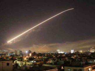 Leutar.net SAD, Britanija i Francuska napale Siriju, dejstvovala sirijska PVO (VIDEO)
