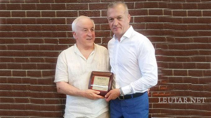 Leutar.net Dr Uglješa Anđelić dobitnik plakete za doprinos i razvoj džudoa na Balkanu