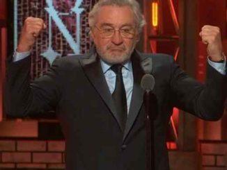 """Leutar.net Ovacije za De Nira na dodjeli nagrada: """"Kazaću samo jedno - j*b*š Trampa!"""""""