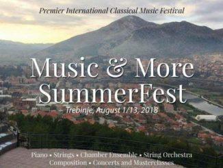 """Leutar.net U Trebinju sutra počinje međunarodni festival klasične muzike """"Music & More SummerFest"""""""