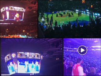 Leutar.net Linđo na poluvremenu NBA utakmice! VIDEO