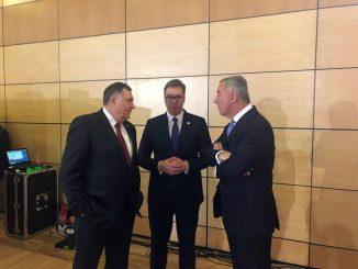 Leutar.net Dodik, Vučić i Đukanović o aktuelnoj situaciji u regionu