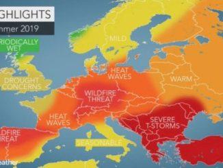 Leutar.net Napokon lijepa vremenska prognoza: Balkanu prijete jake ljetnje oluje