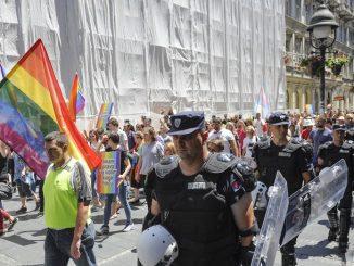 "Leutar.net Parada ""Ponos Srbije"" u Beogradu prošla bez incidenata: Prvi put se šetalo Knez Mihailovom"