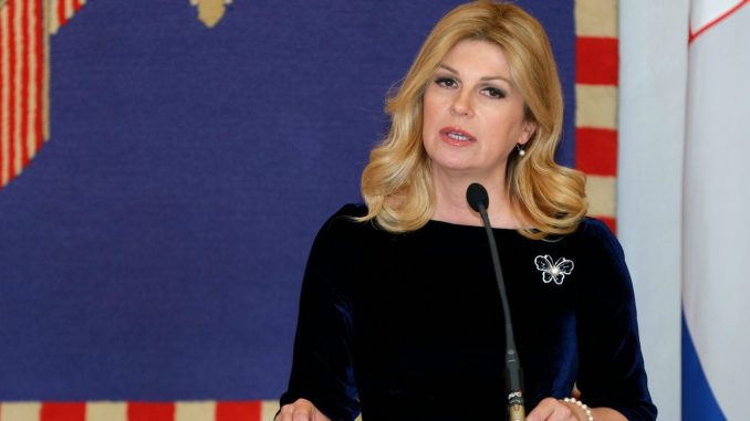 Leutar.net Grabar Kitarović: Želim Hrvatsku maknuti s Balkana