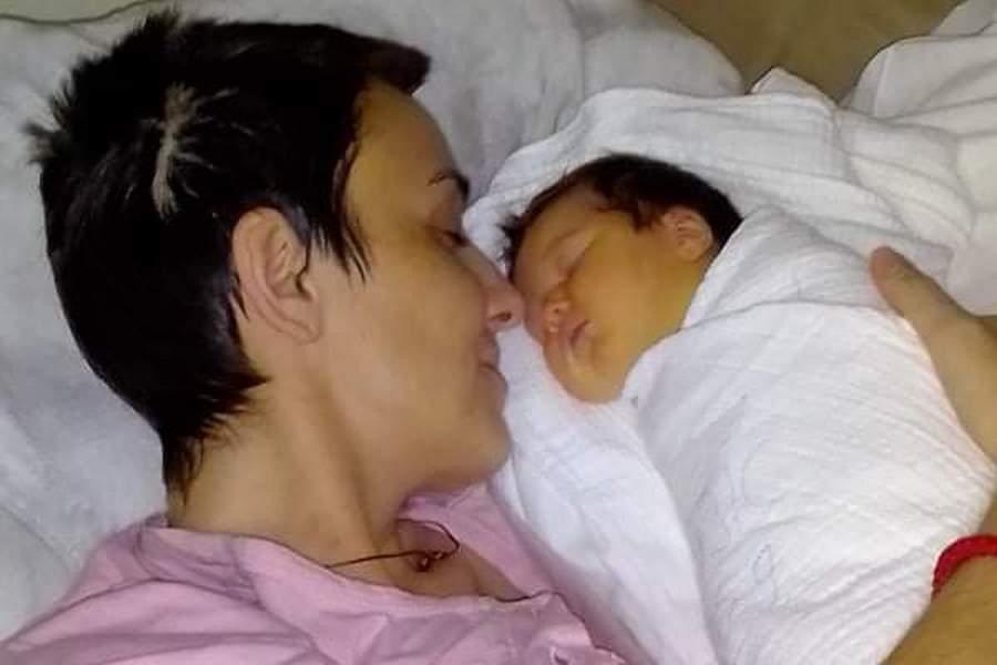 Leutar.net Dragana pobijedila smrt i porodila se na svoj rođendan