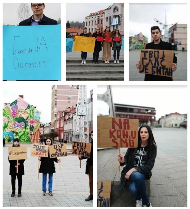 Leutar.net Mladi iz čitave BiH juče poslali jasnu poruku! Tvoj glas je ovdje itekako bitan! (FOTO)