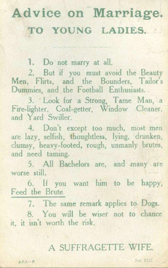 Leutar.net Retro savjeti za brak