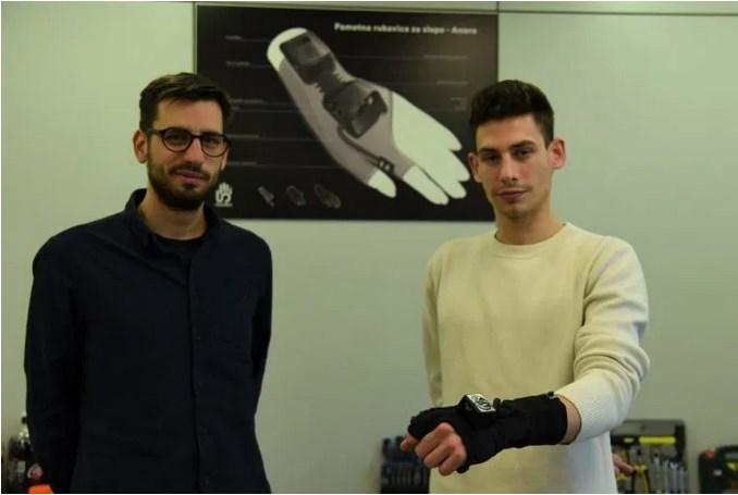 Leutar.net Revolucionarno otkriće: Nikola Krstić napravio pametnu rukavicu za slijepe i slabovide, koja će uskoro biti u prodaji
