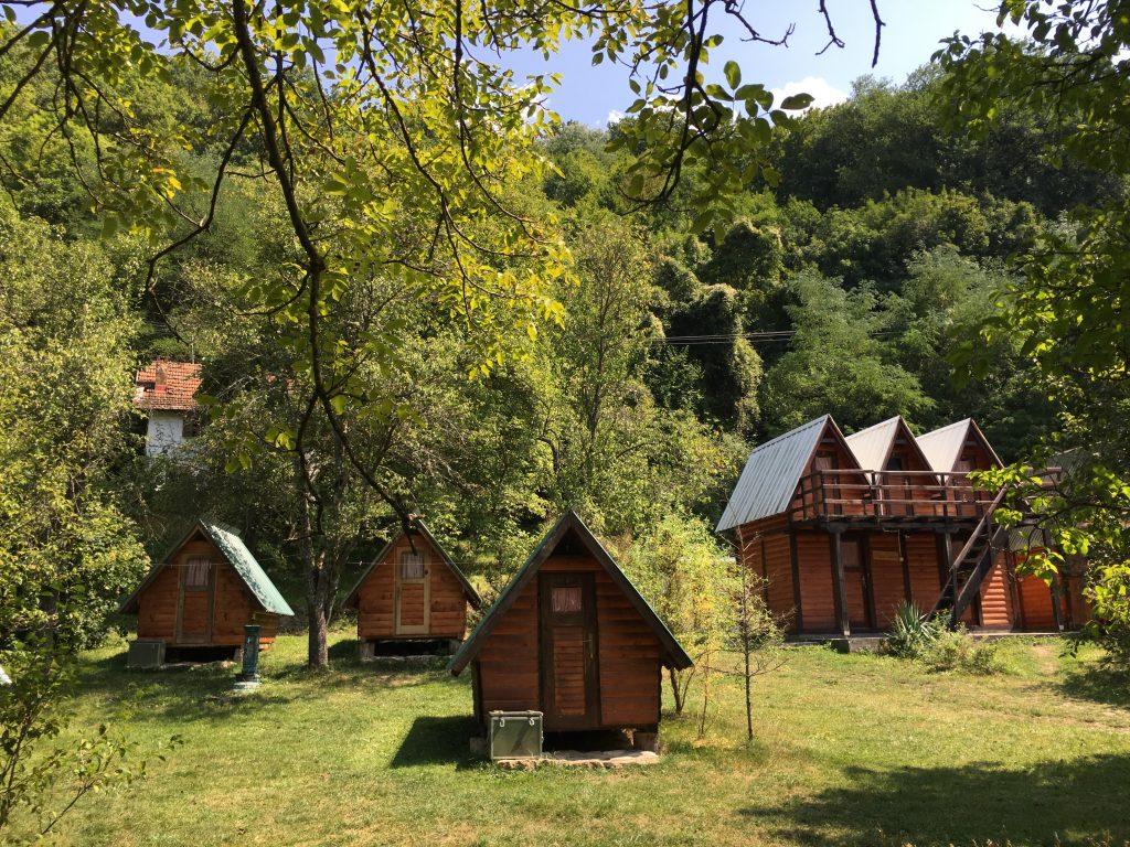 Leutar.net Rafting kamp Stari dud