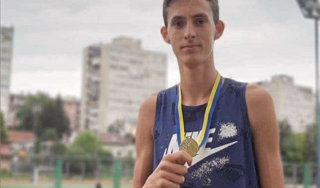 Leutar.net Marko Šuković prvak BiH u disciplini skok u vis