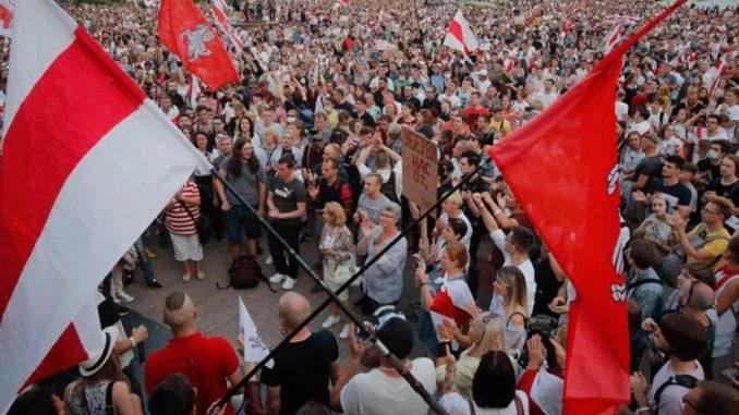 Leutar.net Demonstranti u Bjelorusiji ne odustaju, vojska upozorava da će reagovati
