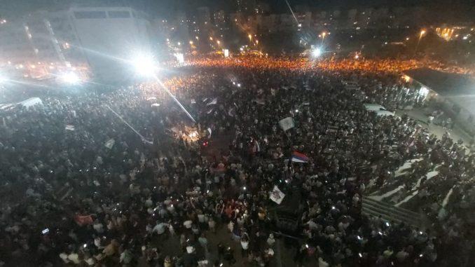 Leutar.net Narod slavi slobodu – veliko slavlje na ulicama Podgorice