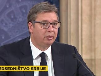 Leutar.net Vučić: Rekao sam Dodiku...; Dodik: Tražim od Vučića da nam garantuje VIDEO