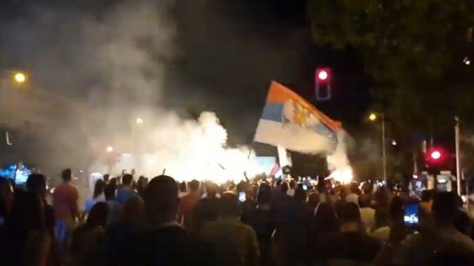 Leutar.net Litija u Podgorici, veliki broj građana na ulicama