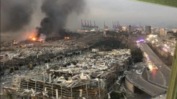 Leutar.net Novi bilans u Bejrutu: Najmanje 50 poginulih i više od 2.700 povrijeđenih u razornim eksplozijama
