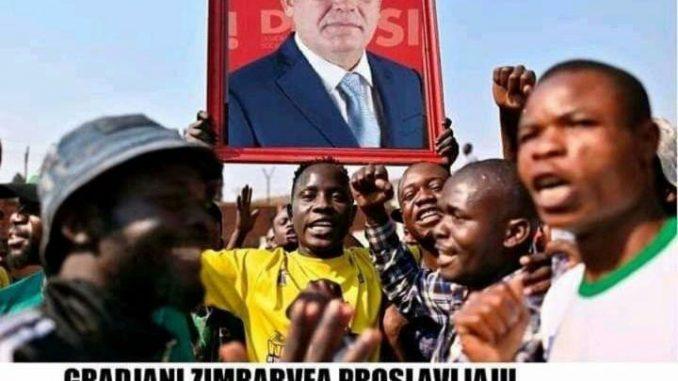 Leutar.net Građani Zimbabvea proslavljaju otvaranje granice sa Crnom Gorom