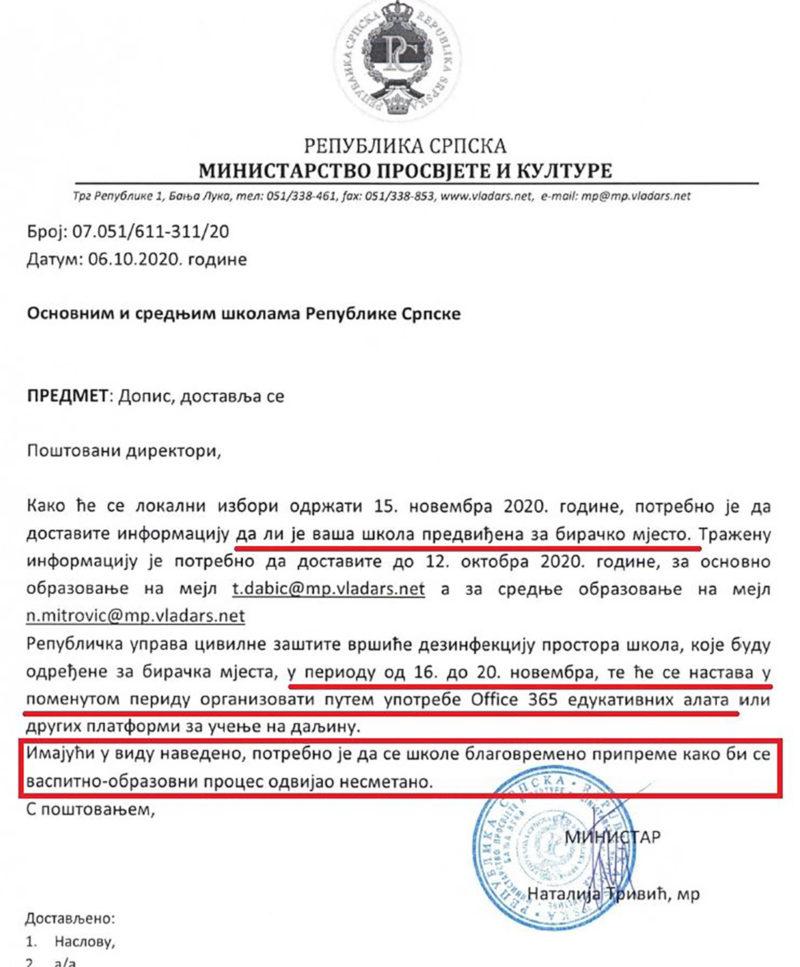 Leutar.net Škole u Srpskoj se zatvaraju na četiri dana