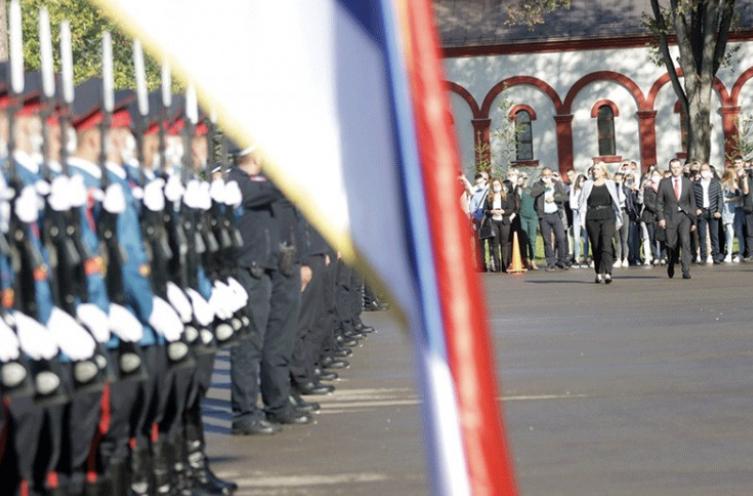 Leutar.net Dodik: Policajci Srpske uspijevaju da naše snove pretvore u stvarnost