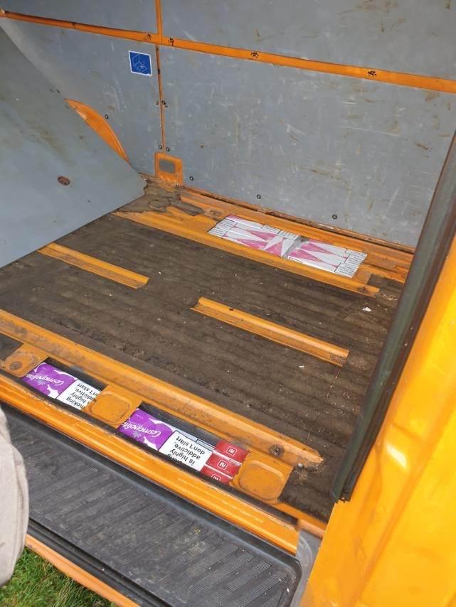 Leutar.net Trebinjac preuredio kombi: Zaplijenjene cigarete vrijednosti 41.050 KM