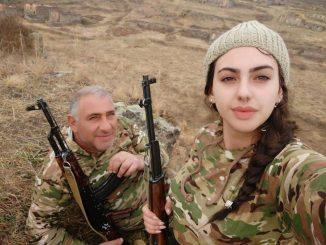 Leutar.net Zajedno na prvoj liniji fronta: Otac i ćerka u Karabahu