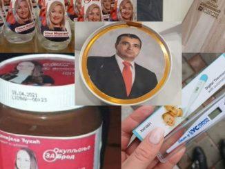 Leutar.net UVIJEK IMA GORE OD GOREG: Kandidati za izbore na paštetama, tabletama, eurokremu, daskama, klupicama, toplomjerima FOTO