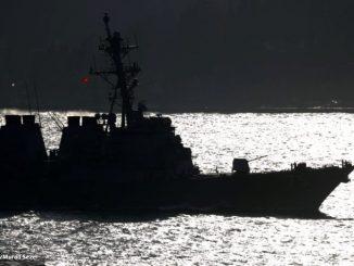 Leutar.net Američka krstarica uplovila u Crno more, ruska flota stavljena u pripravnost