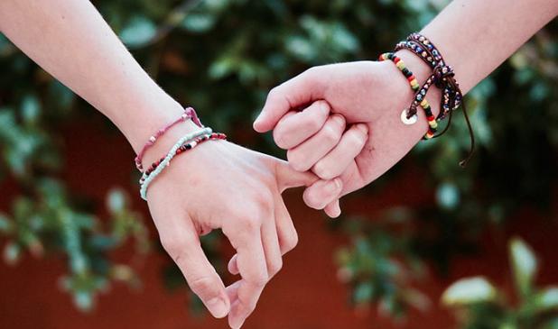 Djetinjstvo nekad - držanje za ruke