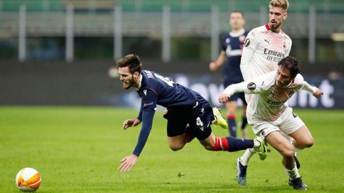 Leutar.net Milan bez pobjede zaustavio Zvezdu u Ligi Evrope
