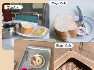 Leutar.net Fotografije hrane u porodilištima u BiH i regionu 'tresu' društvene mreže