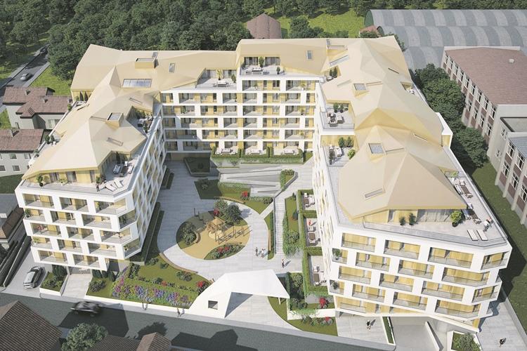 Merin Hill, stambeno poslovni objekat u Beogradu, investitor Merin Holdings, Zabriskie studio
