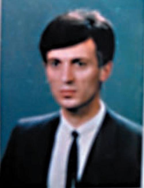 Mustafa Pintol, rijetka sačuvana fotografija