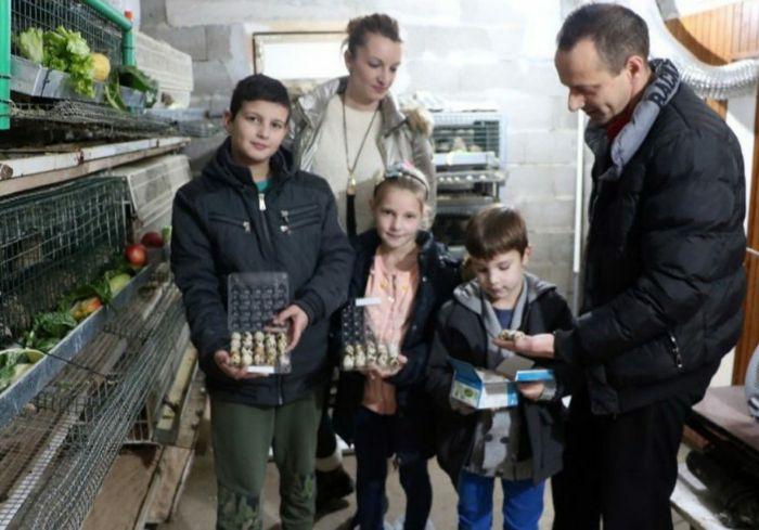 Leutar.net Trebinjska porodica Sredanović ima 500 prepelica i odličan izvor dodatne zarade
