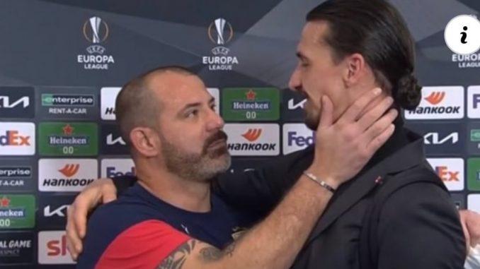 Leutar.net Emotivan susret Ibrahimovića i Dekija Stankovića: On mi je kao brat!