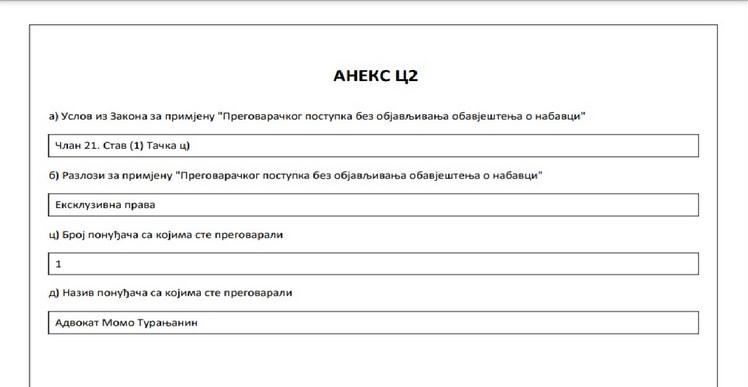 """Leutar.net RITE GACKO: 100.000 KM za """"ekskluzivna prava"""" na advokatske usluge"""