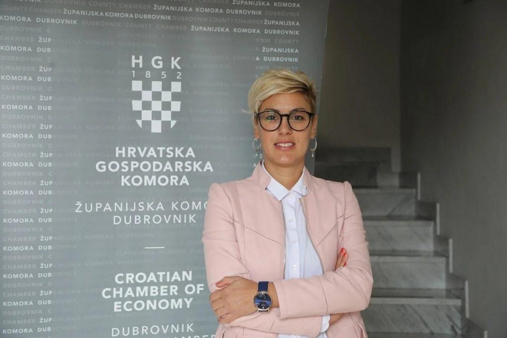 Predsjednica HGK Županijske komore Dubrovnik Nikolina Trojić Foto: Cropix