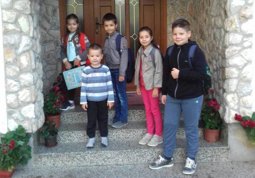 porodica Rendić spremni za školu