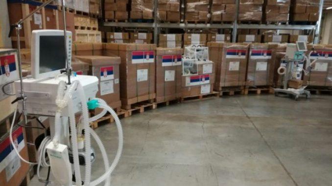 Leutar.net Srbija donirala Srpskoj respiratore i medicinsku opremu