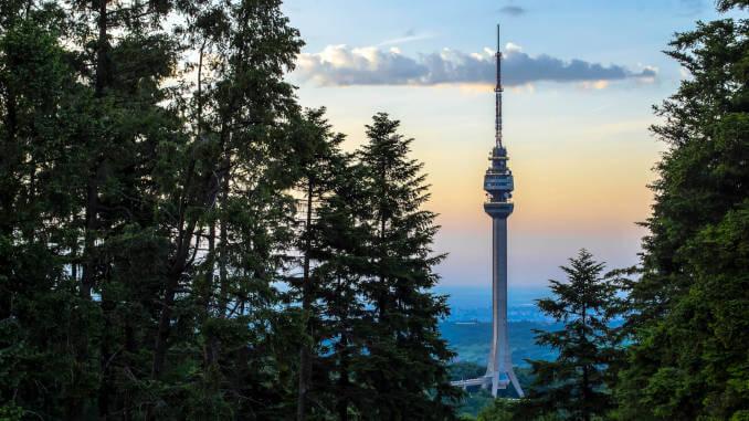 Top 5 lokaliteta Beograda, Avalski toranj