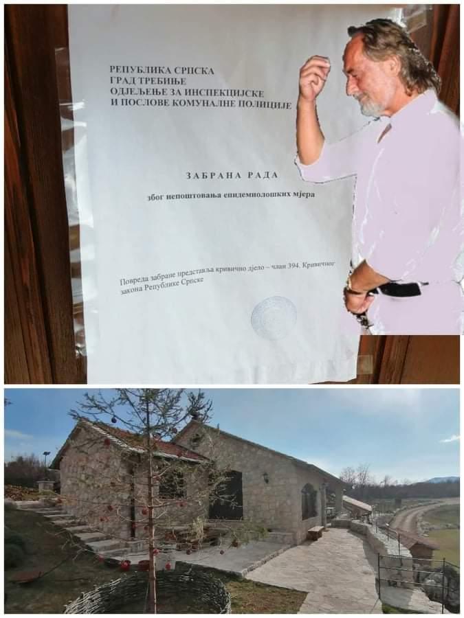 Leutar.net Zatvorena Etno kuća u Gradu Sunca zbog nepoštovanja epidemioloških mjera FOTO