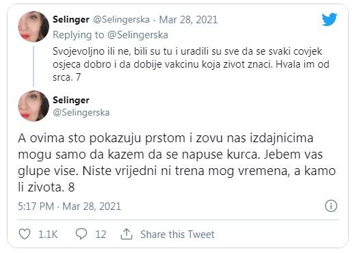 Leutar.net Bosanka se vakcinisala u Srbiji: Hvala građanima, ne Vučiću