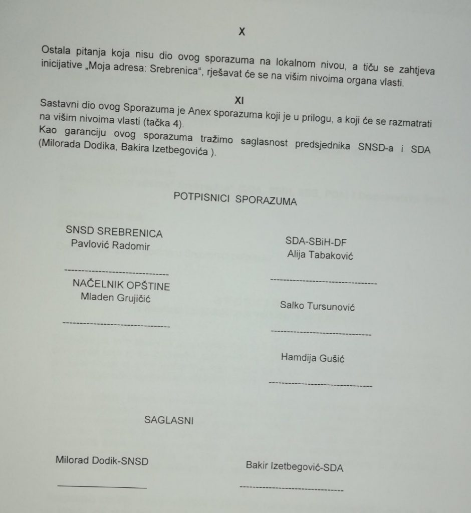 Leutar.net Ćamil Duraković izabran za predsjednika Skupštine opštine Srebrenica