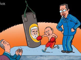 """Leutar.net Kako karikaturista """"Vijesti"""" vidi aktuelnu političku situaciju u Crnoj Gori"""