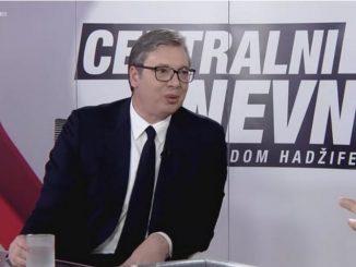 Leutar.net Vučić: Senade, mirno spavajte! Velika Srbija se ne pravi