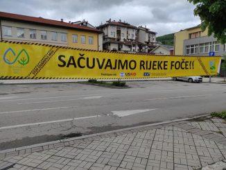 Leutar.net Aktivisti za spas rijeka Foče: Voda za sve ili profit za pojedinca (FOTO)